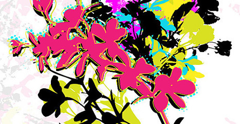 A Collection of Free Adobe Illustrator Floral Vector Files | Design | Scoop.it