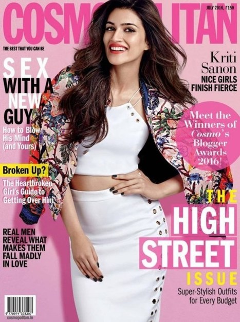 Kriti Sanon Cosmopolitan Magazine July 2016 | Lahoripoint.com | Fashion & Style | Scoop.it