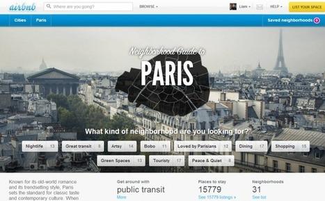 Airbnb fournit 6,5 millions de touristes à la France - Hébergement sur Le Quotidien du Tourisme | Médias sociaux et tourisme | Scoop.it