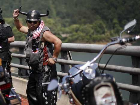 Chinese Motorcyclists Show Their Love For Harley-Davidson - Business Insider | Harley Davidson Marlboro Man Leather Jacket Replica Sale | Scoop.it