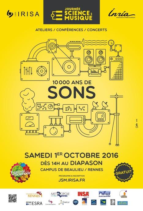 01.10 - Journée Science et Musique 2016 /// 10000 ans de sons | Digital #MediaArt(s) Numérique(s) | Scoop.it
