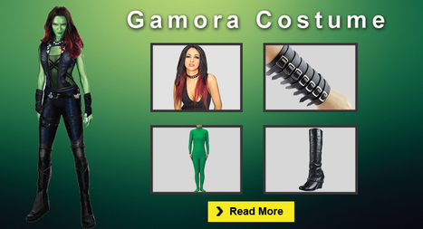 Ultimate Gamora Costume Guide for Halloween and Cosplay | celebrities Leather Jackets | Scoop.it