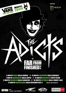The Adicts + Far From Finished en Madrid » Concierto | ZonaRuido | joanhugo | Scoop.it