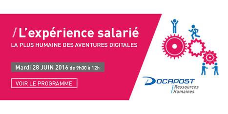 Webinars DOCAPOST : L'expérience salariée, la plus humaine des aventures digitales | DOCAPOST RH | Scoop.it