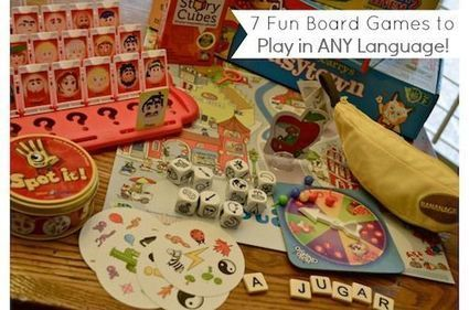 Board Games to Promote Language Learning   Gamification and more!   Scoop.it