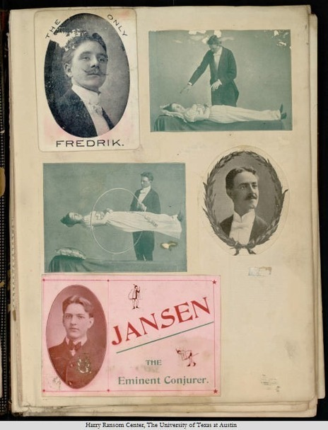 History Made Magic: The Scrapbooks of Harry Houdini Come Alive   Not Even Past   Literary   Scoop.it
