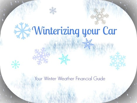Winterizing your Car: Your Winter Weather Financial Guide | Consumer Economics | Scoop.it