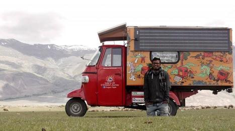 De Bangalore à Londres : 14 000 kilomètres à bord d'un tuk-tuk solaire   Veille positive de l'actualité durable et de la nouvelle consommation   Scoop.it