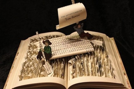 Sculpture Books Make Stories Literally Jump Off The Page - PSFK | Storytelling connects individuals | Scoop.it