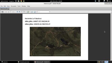 Cómo crear PDFs que contienen mapas empleando la librería PyFPDF de Python | ArcPY - Python | Scoop.it