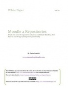 A Look at Moodle 2 Repositories - 1.0 | Learning, Teaching and Computer Science | Scoop.it