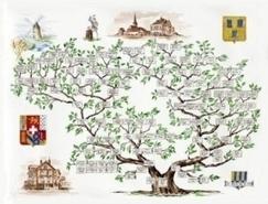 Visite exclusive d'un atelier de dessins d'arbres généalogiques à Eschau (67) | Arbre généalogique | Scoop.it