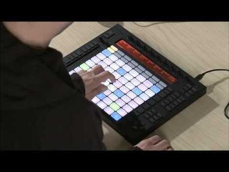 Hardware Instrument For Ableton, Push is designed by Ableton an engineered by Akai Professional | Ableton | Scoop.it