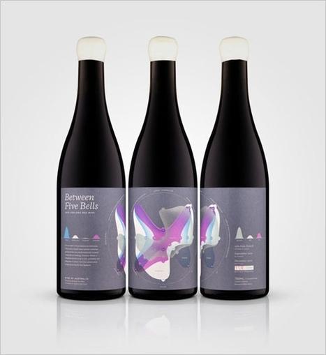 Datavisualisation sur des étiquettes de bouteilles de vin | Tag 2D & Vins | Scoop.it