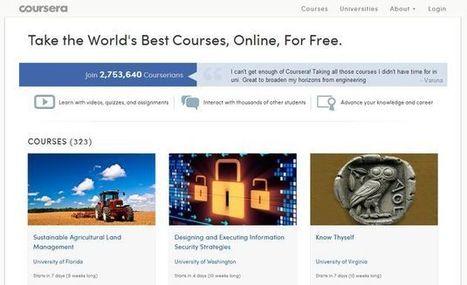 Coursera, otro sitio con una gran colección de MOOCs para el aprendizaje gratuito | Recull diari | Scoop.it