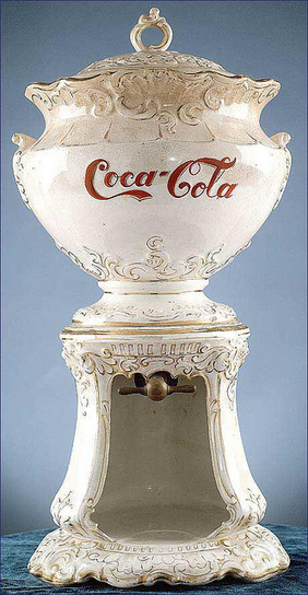 Coca-Cola Syrup Dispenser, 1890s | INTRODUCTION TO THE SOCIAL SCIENCES DIGITAL TEXTBOOK(PSYCHOLOGY-ECONOMICS-SOCIOLOGY):MIKE BUSARELLO | Scoop.it