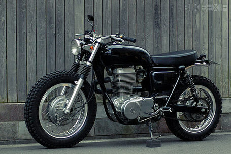 Suzuki ST400 by Speedtractor | Cafe Racers | Scoop.it