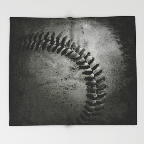 Baseball Throw Blanket by Christy Leigh | Society6 | Art and Photography and Inspiration | Scoop.it