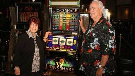 New Hampshire couple wins long-awaited $2.4M jackpot at Las Vegas 'Lion's Share' machine | Xposed | Scoop.it