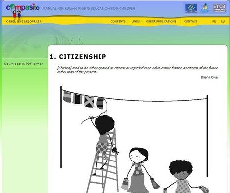 Compasito - Manual on Human Rights Education for Children | Citizenship Education | Scoop.it