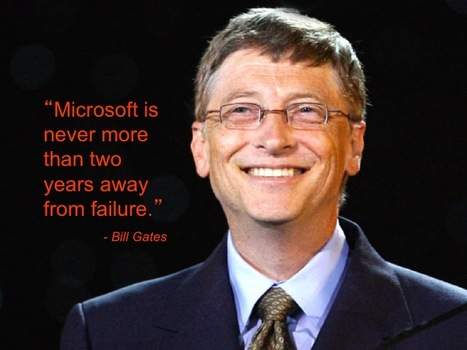The Heart of Innovation: Bill Gates on Failure | The Jazz of Innovation | Scoop.it