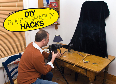 DIY Photography Hacks: make a table-top studio for easy still life photography | Digital Camera World | Photogeekery | Scoop.it