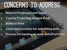 Around the Corner-MGuhlin.org: What's Lost When You Go #iPad - Dealing with 5 Concerns | Ed iPads | Scoop.it