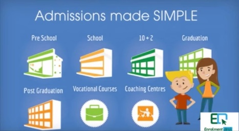How to Make Online Admissions Simple: Popular Trend In Indian Schools | EdTechReview | Scoop.it