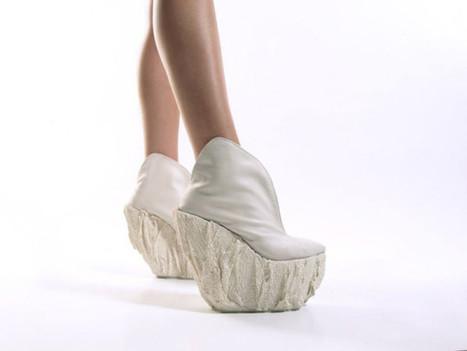 Porcelain platform shoes by Laura Papp | D_sign | Scoop.it