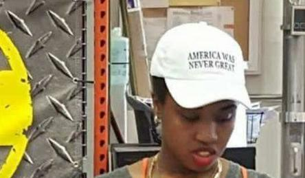 """""""America was never great"""": Home Depot worker receives death threats for Trump-trolling hat 