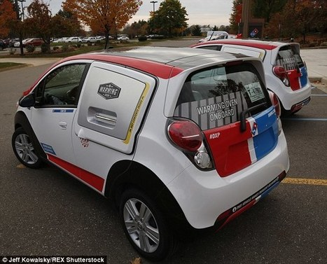 Domino's create new delivery car which can carry 80 pizzas a time   Kickin' Kickers   Scoop.it