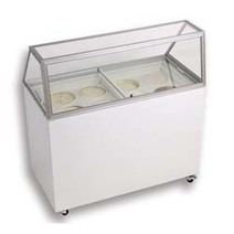 Ice Cream Dipping Cabinet | Straight Glass 8 Cans | For All of Your Display Needs | Scoop.it