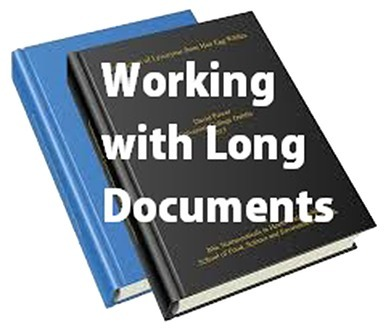 Working with Long Documents | MyThesis Hub | Scoop.it