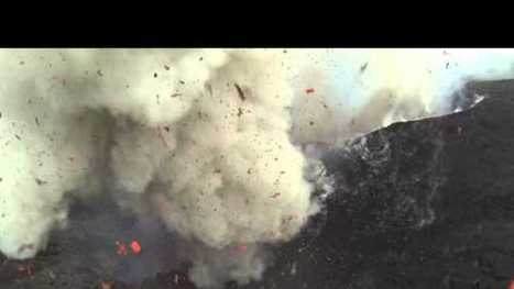 This Drone Footage of an Erupting Volcano Is Absolutely Nuts | DroneLand Times | Scoop.it