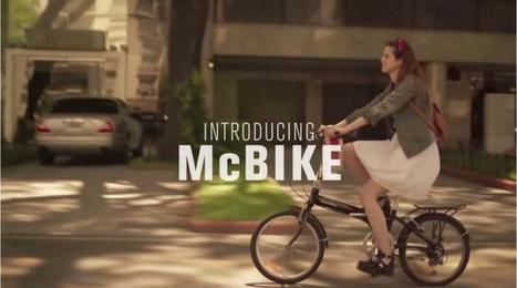 McDo invente le McBike, un nouveau concept de fast food | Food News | Scoop.it