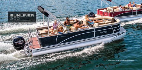 Sunliner 200: Harris FloteBote   Pontoon Boats for Sale   Family Pontoon Boats : 2013   Pontoon Boat   Scoop.it