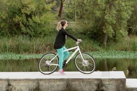 Bicicleta ELIP – A primeira bicicleta sem rodas redondas | Design | Scoop.it