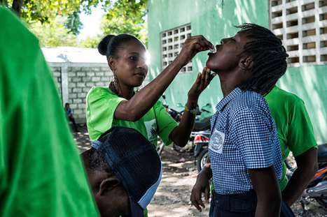 Ban pledges support to Haiti in overcoming cholera epidemic | The Total Sanitation Campaign in Haiti | Scoop.it