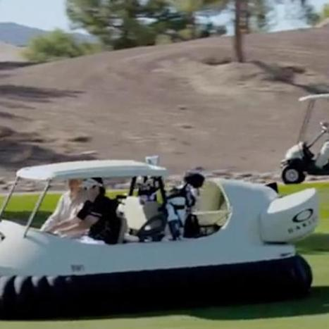 Bubba Watson's Hovercraft Puts All Golf Carts to Shame [VIDEO] | All Technology Buzz | Scoop.it