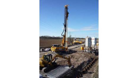 Excavación de un foso para paso subterráneo en una línea ferroviaria | Construcción obra  civil y edificación | Scoop.it