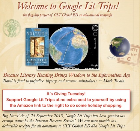 A Huge Announcement RE: Google Lit Trips! | Google Lit Trips: Reading About Reading | Scoop.it