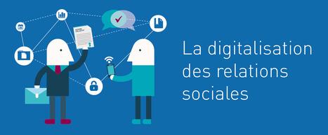 Infographie : La digitalisation des relations sociales | DOCAPOST RH | Scoop.it