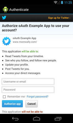 Using OAuth, Twitter and Async To Display Data | JavaScript for Line of Business Applications | Scoop.it