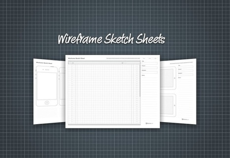 Wireframe Sketch Sheets | MediaLoot | Emotional Design | Scoop.it