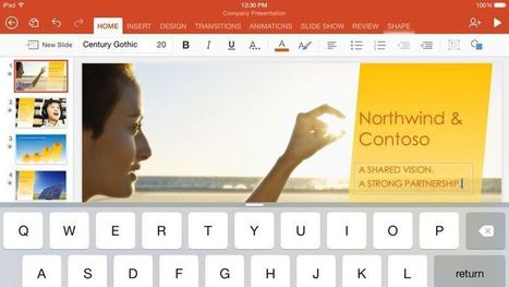 Microsoft offre la suite Office sur Android, iPhone et iPad | Les TICE | Scoop.it