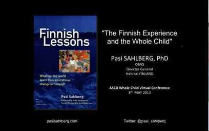 WCVC13 - The Finnish Experience and the Whole Child   Kindergarten   Scoop.it