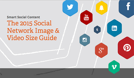 The Ultimate Social Media Image and Video Size Guide | World of #SEO, #SMM, #ContentMarketing, #DigitalMarketing | Scoop.it