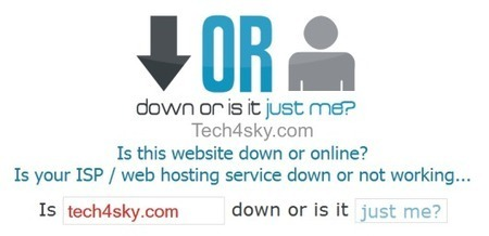 6+ Tools To Check If Website Is Down For Everyone Or Just You | Design Resources | Scoop.it