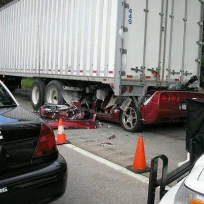 Semi-truck strikes hydraulic lift, injures two ...