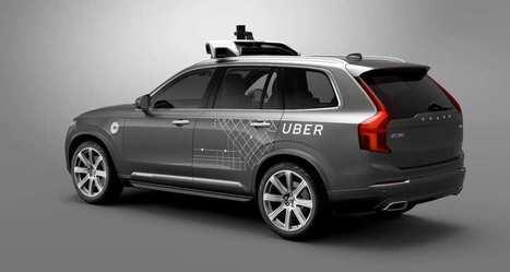 Uber lancera ses premiers taxis robots sur les routes dans quelques jours | Économie de proximité | Scoop.it
